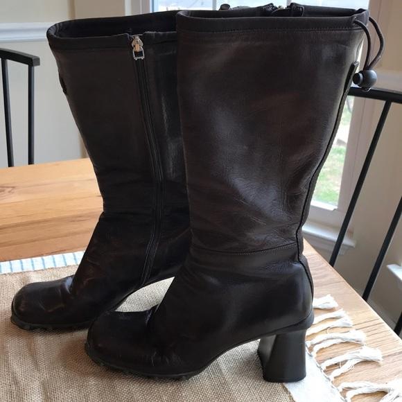 cdad99479971 Miu Miu tall brown boots